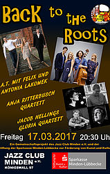 """Back to the roots"" Ein Jazzkonzert der besonderen Art"